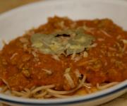 Spaghetti Bolognese (with hidden vegetables!)